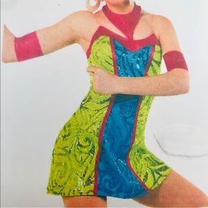 Vibrant Austin Powers Dance Dress